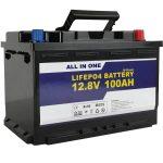 Замена на ГЕЛ / AGM Батерија за складирање на соларна енергија 12v 100ah LifePo4 литиум јонска батерија