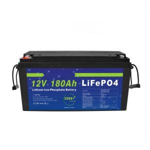 LiFePO4 Литиумска батерија 12V 180Ah за системи за складирање соларна енергија за електрични велосипеди