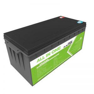 Долг век на траење Батерија на полнење 12,8v 200ah LiFePO4 батерија за количка за голф