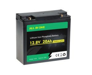 Опрема за полнење Deep Cycle Lifepo4 12V 20AH Литиум јонски батерии OEM