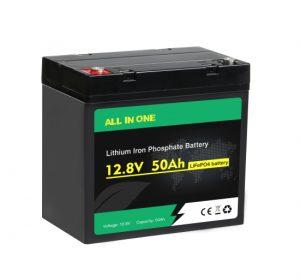 СИТЕ ВО ЕДНА Lifepo4 Батерија 12v 50ah Длабок циклус