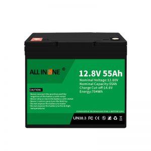 LiFePO4 Батерии замена за оловна киселина батерија 12V 55Ah
