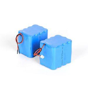 Литиумска батерија на полнење со полнење 18650 со големо празнење 3s4p 12v јонска батерија
