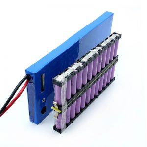 ALL IN ONE Трговија на големо 12S2P 18650 лионска јонска батерија 44.4V 6Ah за електричен скејтборд