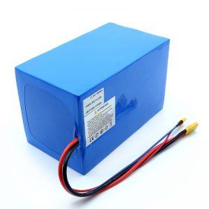 Литиумска батерија 18650 48V 51.2AH 24v 30V 60V 15ah 20Ah 50Ah Li-јонски батерии 18650 48V Литиум јонски батерии за електричен скутер