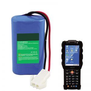 18650 7.2V 2.6Ah литиумска батерија за рачна приклучна опрема за логистика на Експрес