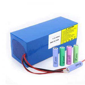 Литиумска батерија 18650 72V 20Ah Ниска стапка на самостојно празнење 18650 72v 20ah литиумска батерија за електрични мотоцикли