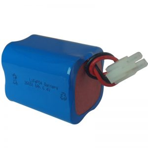 lifepo4 соларна светлина батерија 6.4v 6ah 2S2P пренослива
