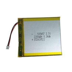 3.7V 2200mAh полимерни литиумски батерии за паметни домашни уреди