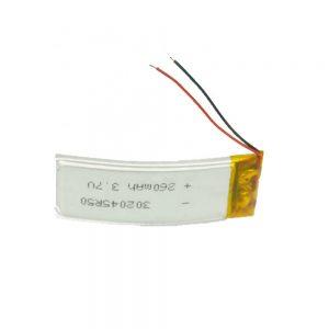 Прилагодена батерија LiPO 302045 3.7V 260mAh