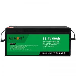 38.4V 60Ah литиум железо фосфат батерија за VPP/SHS/морски/возило 36V 60Ah