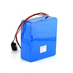 Пакет литиум јонски батерии за полнење 48V 15Ah 20Ah 48 волтен батериски велосипед со електричен скутер