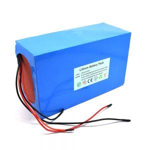 Пакет литиумски батерии 48v / 20ah за електричен скутер