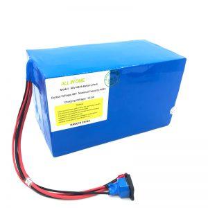 Прилагодено пакет литиумски батерии 18650 48V 40Ah за електронски велосипед, е-брод, електричен скутер