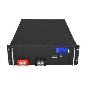 Литиум -јонска батерија со висока енергија 48V 50Ah LiFePO4 за системи за складирање соларна енергија
