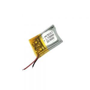 Литиум-полимерна батерија со висок квалитет 3.7V 50mAh 581013 батерија
