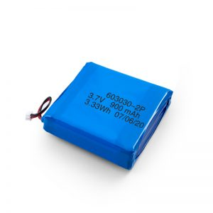 Прилагодено полнење 3.7V 450 530 550 700 750 800 900Mah батерија Li-Po Lipo