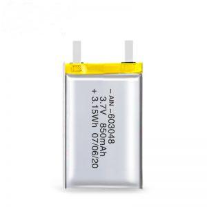Батерија за полнење на LiPO батерија 603048 3.7V 850mAh / 3.7V 1700mAH / 7.4V 850mAH