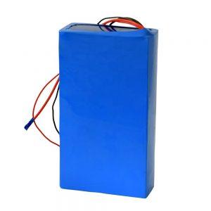 Литиумска батерија со полнење 60v 12ah за електричен скутер