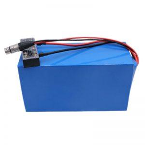Прилагодена литиумска батерија Пакување 60V 20Ah Електричен мотоцикл батерија