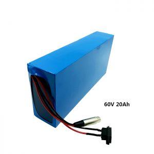 Прилагодено полнење на батеријата 60v 20ah EV батерија литиум