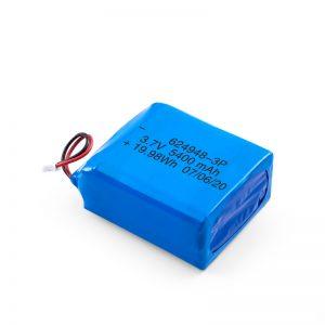 Батерија за полнење со LiPO 624948 3.7V 1800mAH / 3.7V 5400mAH