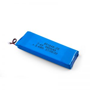 Батерија за полнење со LiPO 651648 3.7V 460mAh / 3.7V 920mAH / 7.4V 460mAH