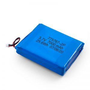 Прилагодено 3.7V 2450 2600 3900 4000 4500 4700 5000 6000 9000Mah полимер липо батерија