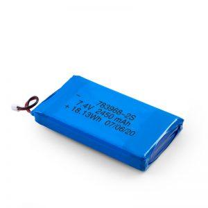 Батерија за полнење со LiPO батерија 783968 3.7V 4900mAH / 7,4V 2450mAH / 3.7V 2450mAH /