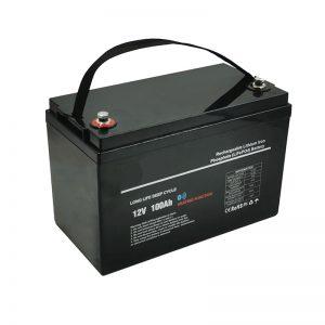 Ниска температура LiFePO4 12V 100AH