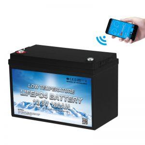 Батерија за ниска температура LiFePO4 12V 100AH