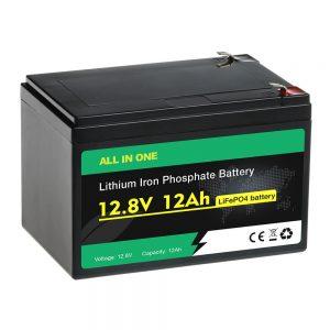 12V 12Ah пакување замена на оловна киселина батерија LiFePO4 батерија