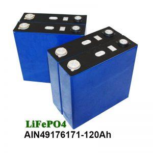 Prismatic батерија LiFePO4 батерија 3.2V 120AH за мотор на соларен систем UPS-от