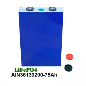 Призматична батерија LiFePO4 36130200 3.2V 75AH