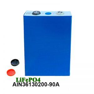 LiFePO4 Призматична батерија 3.2V 90AH lifepo4 ќелија за полнење на батерија за електрични алати за автомобили електрична инвалидска количка