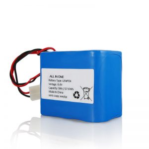 Пакет батерии 6.4V 12Ah LiFePO4 Литиум 26650 32650 со приклучок за сончево светло