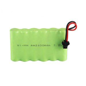 NiMH батерија за полнење AA 2400mAh 7.2V