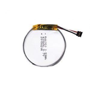 46350 базирана батерија 46350 3.7V 350mAH батерија за паметни часовници 46350 мала рамна кружна батерија со литиум полимер за играчки