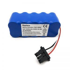 12v ni-mh батерија за правосмукалка TEC-5500, TEC-5521, TEC-5531, TEC-7621, TEC-7631